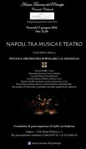 Piccola Orchestra Popolare C.O. Panzillo - Napoli, tra musica e teatro
