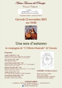 Orchestra Offerta Musicale di Venezia - Una sera d'autunno