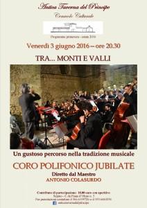 Coro Polifonico Jubilate - Tra... monti e valli