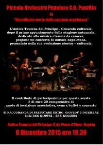 Piccola Orchestra Popolare C.O. Panzillo - Disordinata storia della canzone napoletana