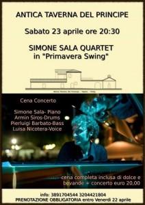 Simone Sala Quartet - Primavera Swing
