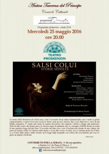 Teatro Proskenion - Salsi colui - Storie sepolte
