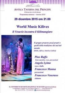 Word Music Kilives - Il Vesuvio incontra il Kilimangiaro